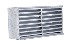 metal air vents